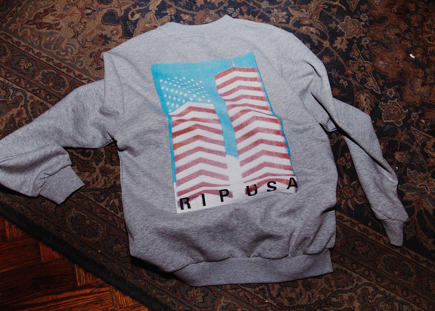 N-E × Cali Thornill Dewitt (Grey Sweater)