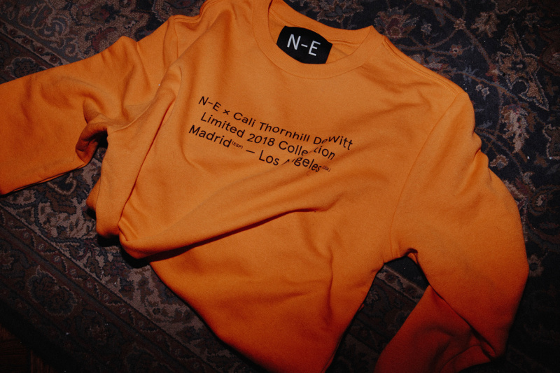 N-E x Cali Thornill Dewitt (Orange Sweater)