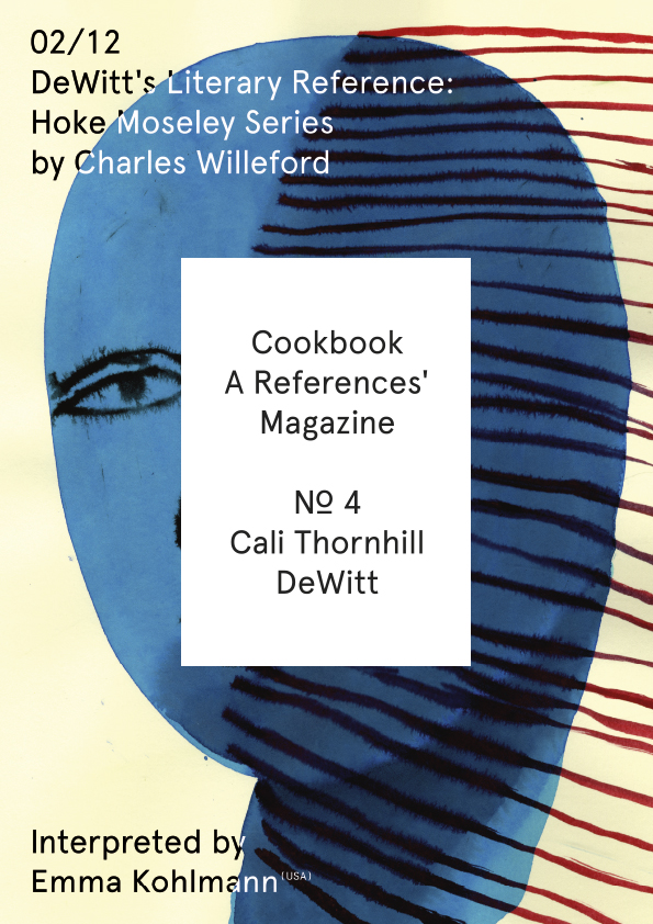 Cookbook N.º 4 Cali Thornhill DeWitt 02/12