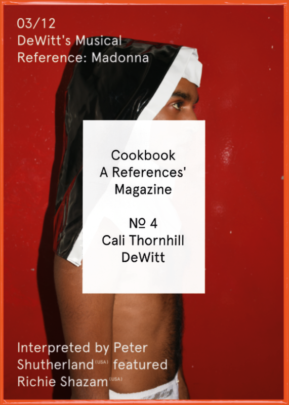 Cookbook Nº4 Cali Thornhill DeWitt 03/12