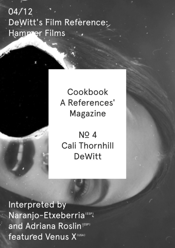 Cookbook Nº4 Cali Thornhill DeWitt 04/12